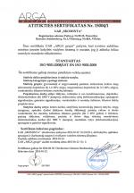 Atitikties sertifikatas 15004/1
